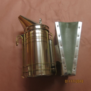 Smoker 4x7 Stainless Steel With Shield