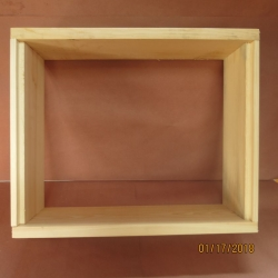 Medium Box Wooden Assembled (Rabbet Joints) 2