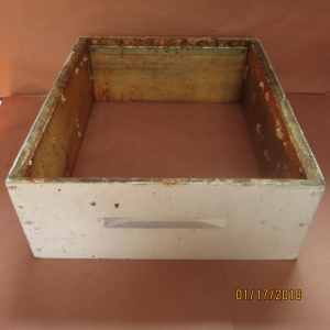 Medium Box Wooden Used